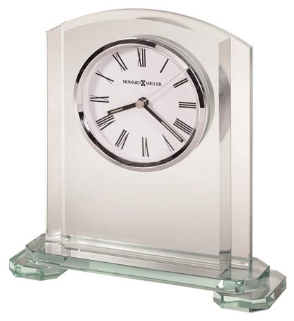 Howard Miller Stratus 645-752 Glass Desk Clock