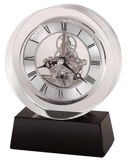 Howard Miller Fusion 645-758 Crystal Desk Clock