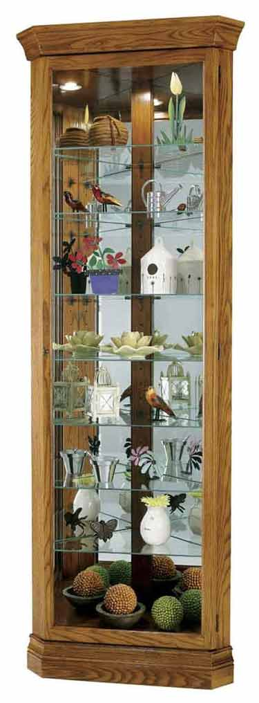 Howard Miller Dominic 680 485 Corner Curio Cabinet The