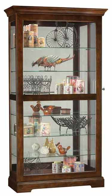 Howard Miller Tyler 680 537 Curio Cabinet The Clock Depot