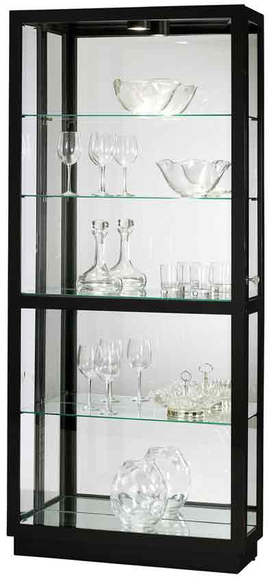 stores gallery curio home cabinet black oxford curios furniture corner by pulaski