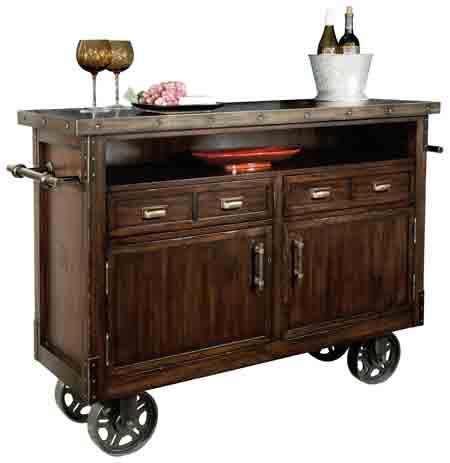 Howard Miller Barrows 695-146 Wine & Bar Cabinet