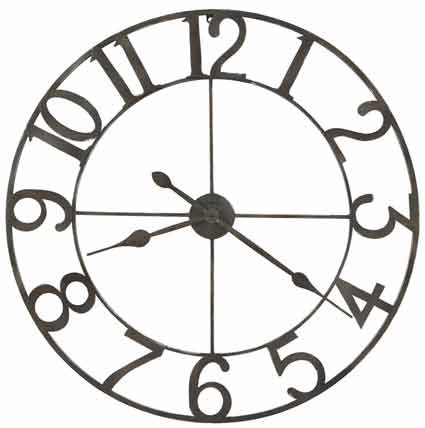 Howard Miller Artwell 625-658 Large Wall Clock