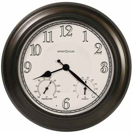 Howard Miller Briar 625-676 Outdoor / Indoor Wall Clock