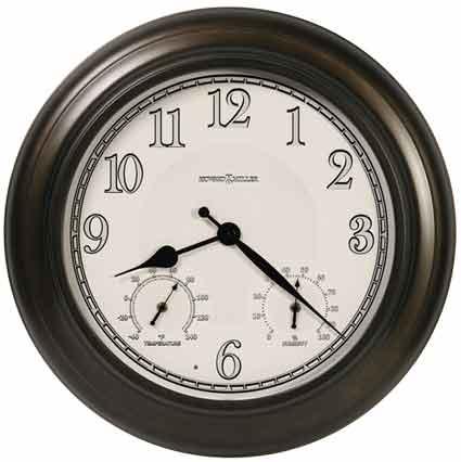 Howard Miller Briar 625-676 Outdoor / Indoor Wall Clock
