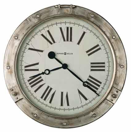 Howard Miller Chesney 625-719 Porthole Wall Clock