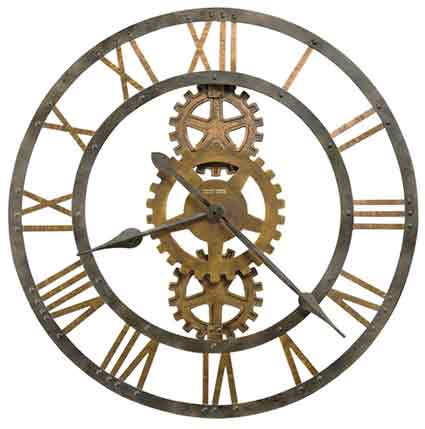 Howard Miller Crosby 625-517 Oversized Wall Clock