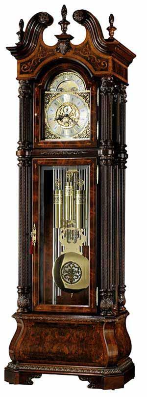 Howard Miller J.H. Miller II 611-031 Tubular Chime Grandfather Clock