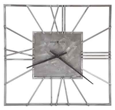 Howard Miller Lorain 625-611 Large Wrought Iron Wall Clock