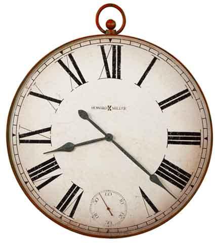Howard Miller Pocket Watch II 625-647 Large Wall Clock