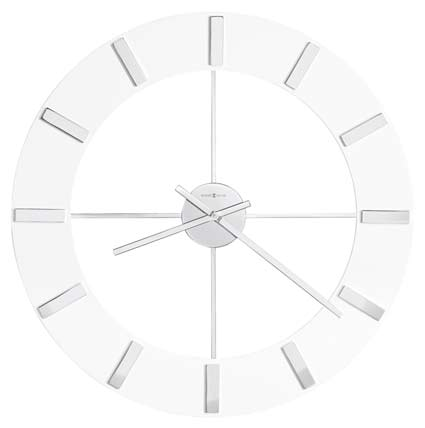 Howard Miller Pearl 625-596 Large Contemporary Wall Clock