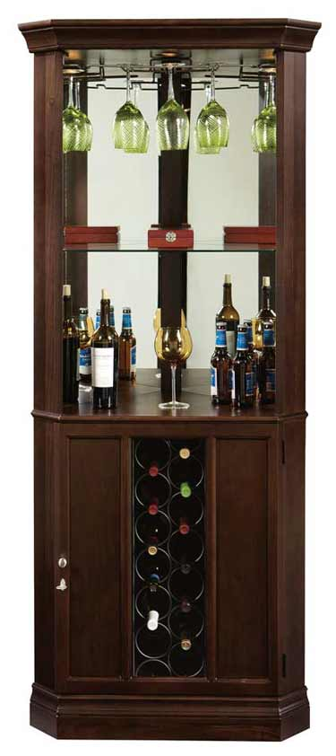 Howard Miller Piedmont Iii 690 007 Corner Wine Cabinet