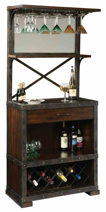 Howard Miller Red Mountain 695-138 Wine Cabinet
