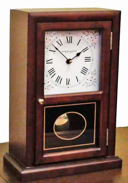 New England Cottage Chiming Mantel Clock