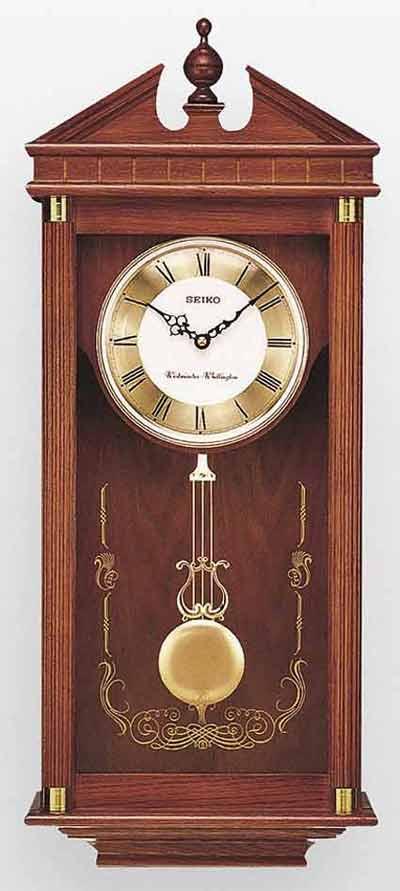 Seiko QXH107BLH Chiming Traditional Wall Clock