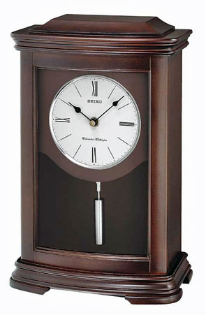 Seiko QXQ013BLH Chiming Mantel Clock