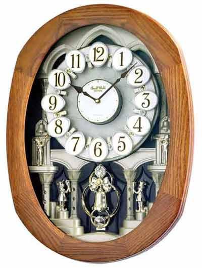 Rhythm 4MH847WD06 Joyful Encore Musical Clock