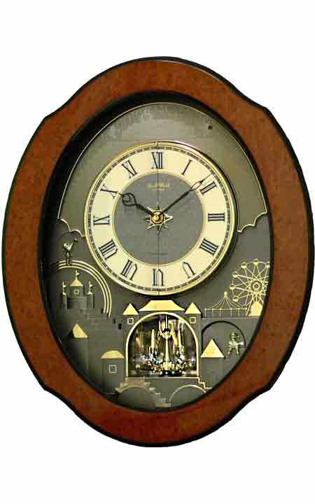Rhythm 4MH864WU06 Timecracker Ultra II Wall Clock