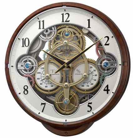Rhythm 4MH886WU23 Widget Musical Clock