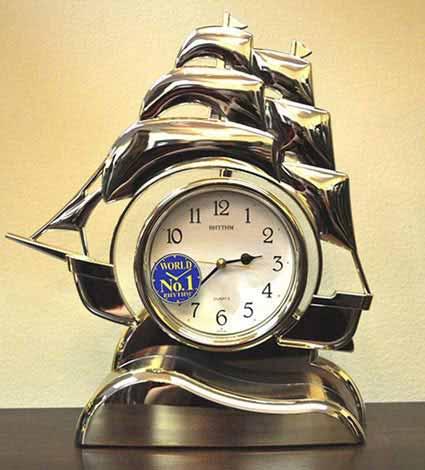 Rhythm 4RP705-R18 Sailing Ship Clock