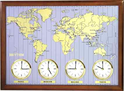 Clocks around the world by rhythm cmw902nr06 the clock depot rhythm cmw902nr06 clocks around the world time zone clock gumiabroncs Image collections