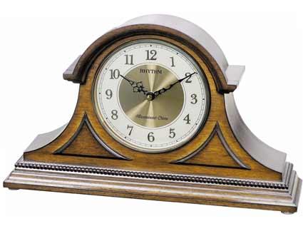 Rhythm CRH216UR06 Remington II Musical Mantel Clock