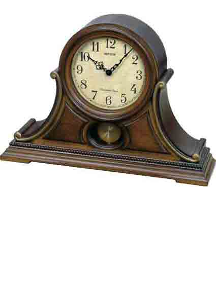 Rhythm CRJ733UR06 Tuscany II Chiming Musical Mantel Clock