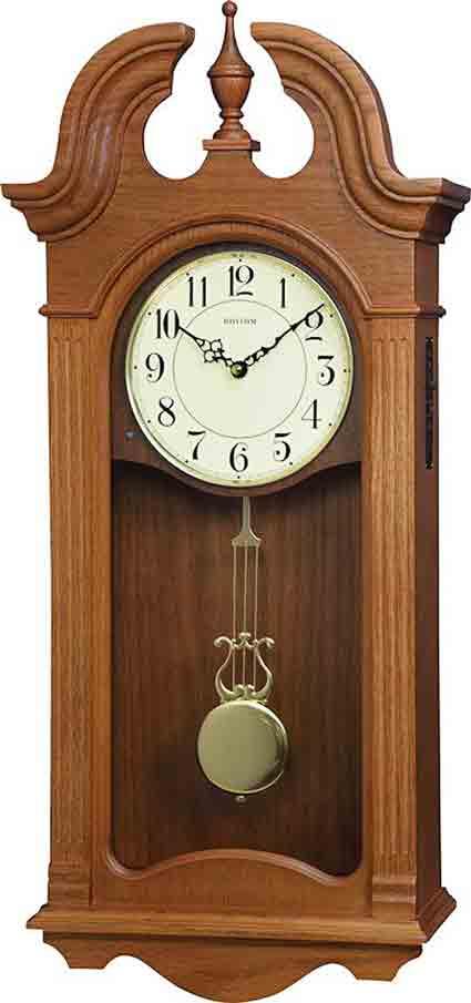 Rhythm CMJ587UR06 Jamesport Musical Wall Clock