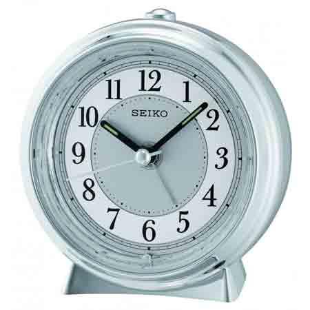 Seiko QHE132SL Non-Ticking Alarm Clock
