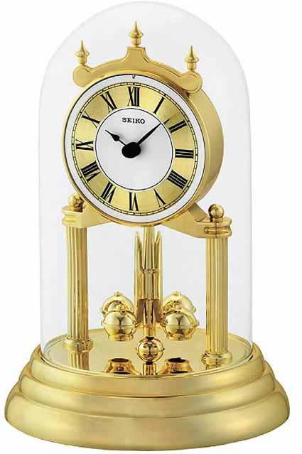 Seiko QHN006GLH Non-Chiming Anniversary Clock