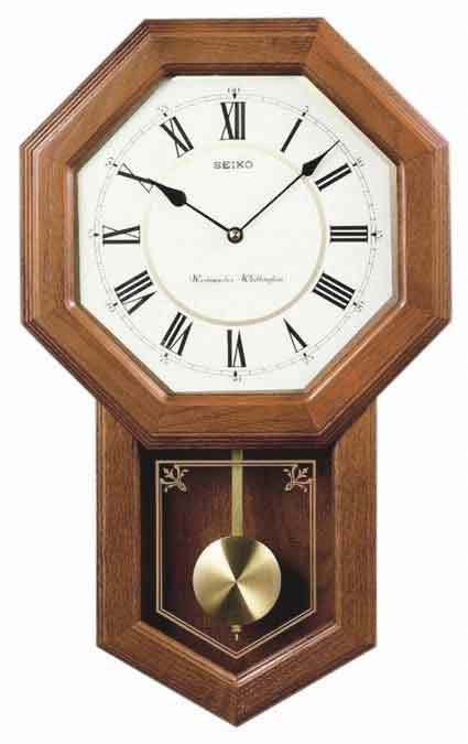 Seiko Qxh110blh Chiming Schoolhouse Clock The Clock Depot