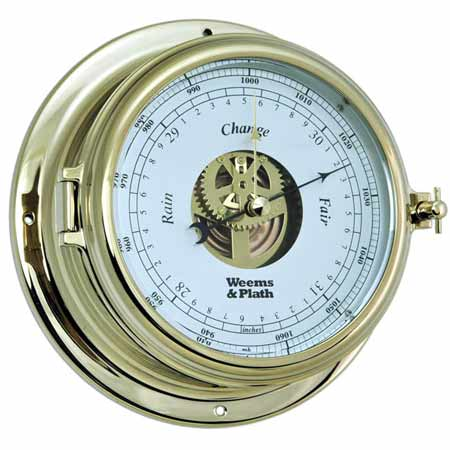 Weems and Plath 950733 Endurance II 135 Open Dial Barometer