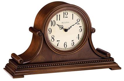 Bulova B1514 Asheville Chiming Mantel Clock