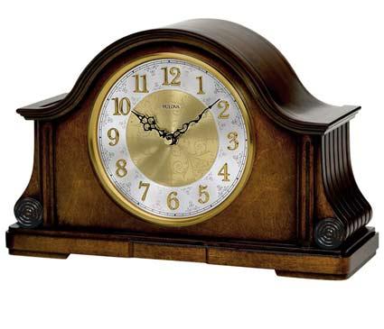 Bulova B1975 Chadbourne II Chiming Mantel Clock