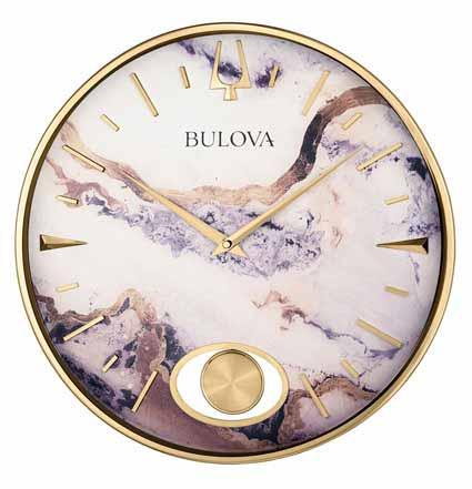 Bulova C4864 Stonemont Wall Clock