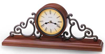 Bulova B1910 Strathburn Mantel Clock