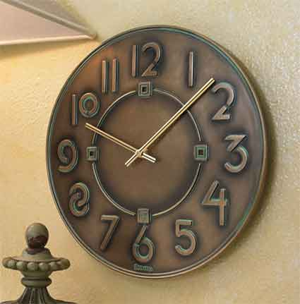Bulova C3333 Exhibition Wall Clock