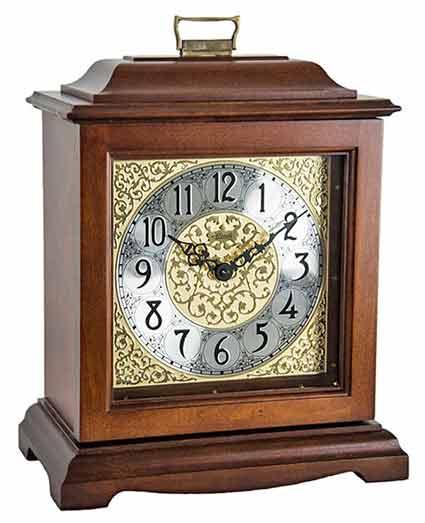 Hermle 22518N9Q Austen Quartz Chiming Mantel Clock