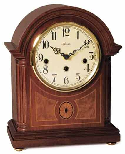 Hermle Barrister 22877-070340 Keywound Chiming Mantel Clock