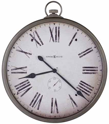 Howard Miller Gallery Pocket Watch 625-572 Large Wall Clock