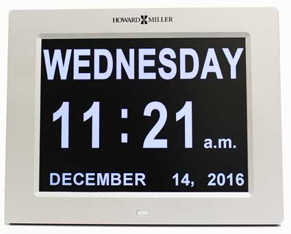 Howard Miller Memory 625-632 Table Clock / Wall Clock