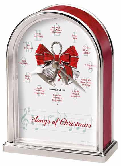 Howard Miller Songs of Christmas Clock 645-820