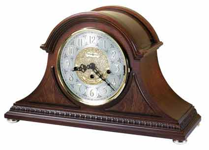 Howard Miller Barrett 630-200 Keywound Mantel Clock