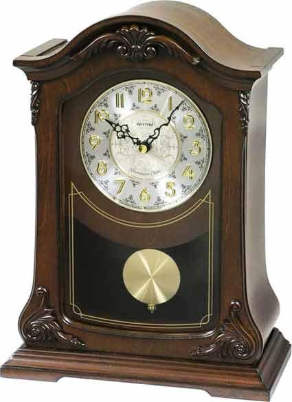 Rhythm CRJ732UR06 Nice II Chiming Mantel Clock