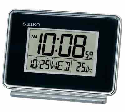 Seiko QHL068KLH Dual Alarm Digital Alarm Clock