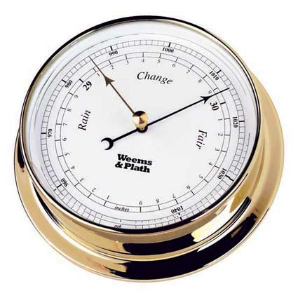 Weems and Plath 530700 Brass Endurance 125 Barometer
