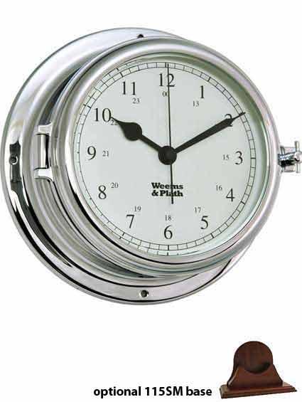 Weems and Plath 560500 Endurance II 135 Chrome Clock
