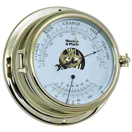 Weems and Plath 951000 Endurance II 135 Barometer Thermometer