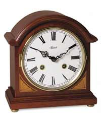 Hermle Liberty 22857-N90130 Keywound Bell Strike Mantel Clock