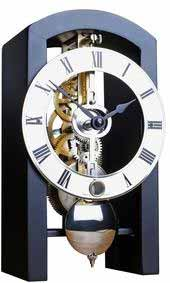 Hermle Archway 23015-000711 Keywound Skeleton Mantel Clock 23015-740721